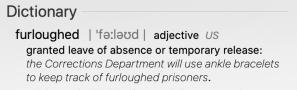 Furloughed